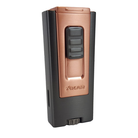 Trezo Lighter Matte Black and Bronze