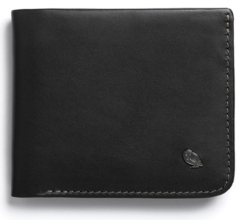 Bellroy Hide and Seek Black - Premium Leather Wallet with RFID
