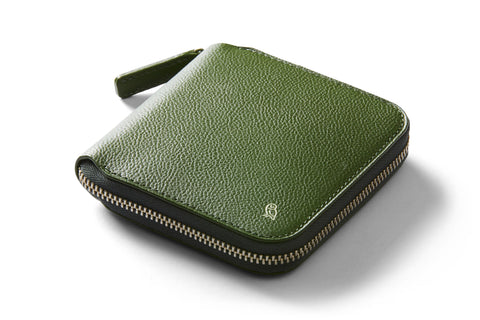Bellroy Designer's Edition Zip Wallet Forest