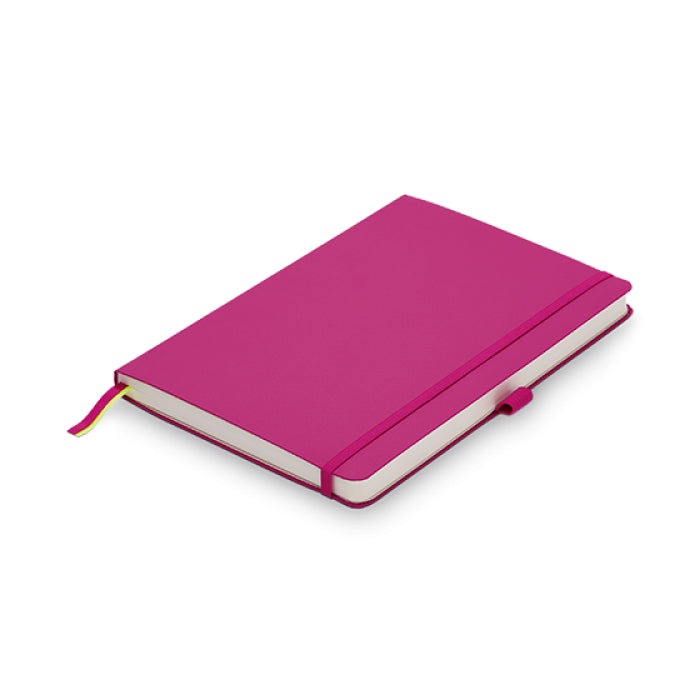 Lamy Soft Cover Notebook Ruled A5 Pink