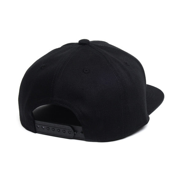 Blackout snapback back