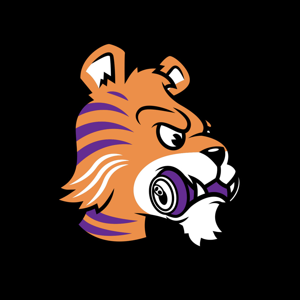 Tiger design - zoom