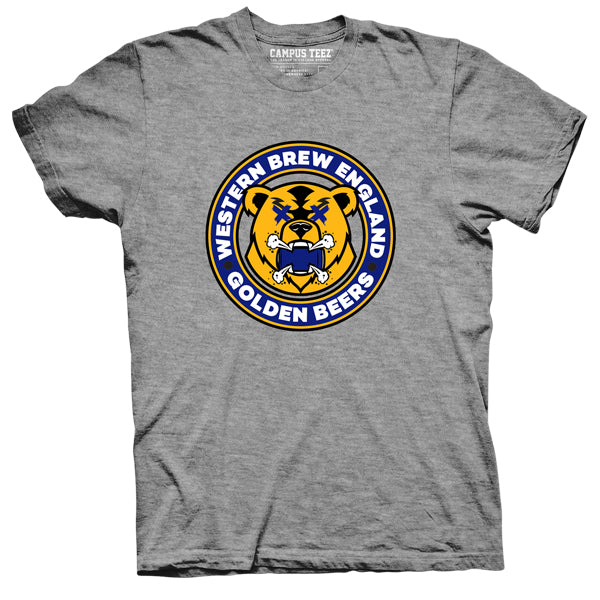 Golden Beers guys tee