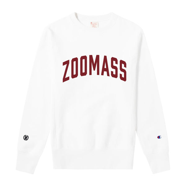 Zoo crewneck in white