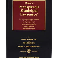 Pennsylvania Municipal Lawsource® (includes book + digital download)