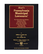 Z-Password Protected Digital Download - Pennsylvania Municipal Lawsource®
