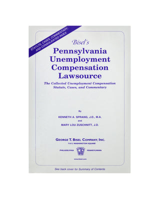 Pennsylvania Unemployment Compensation Lawsource®