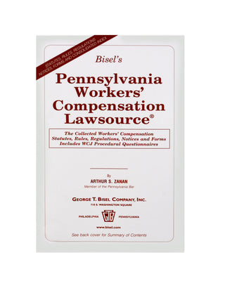 Z-Password Protected Digital Download - Pennsylvania Workers' Compensation Lawsource®