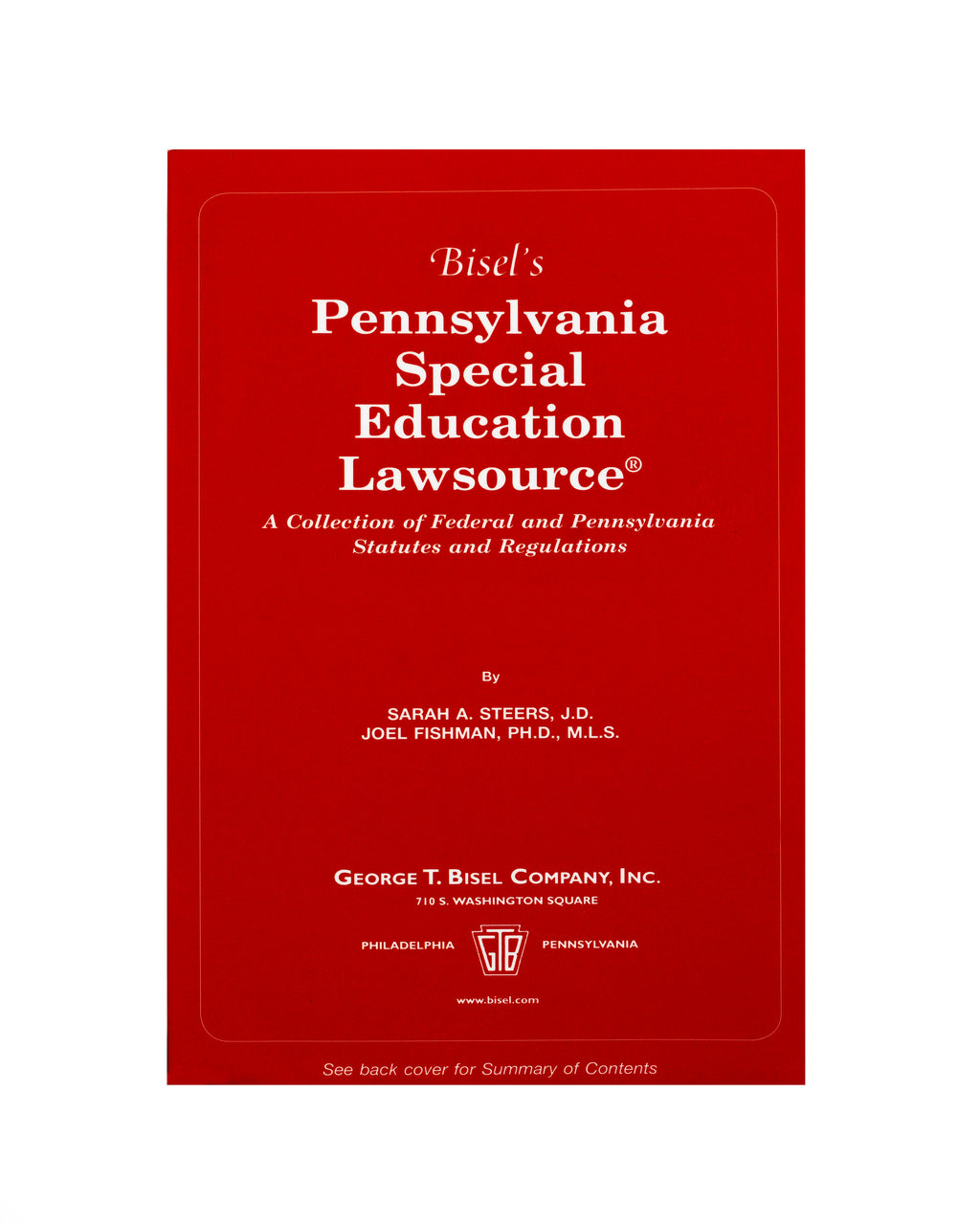 PA Special Education Lawsource (includes book + digital download)