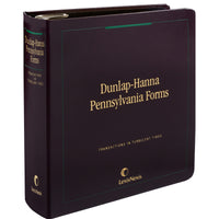 Dunlap-Hanna Pennsylvania Forms-CD ROM Version
