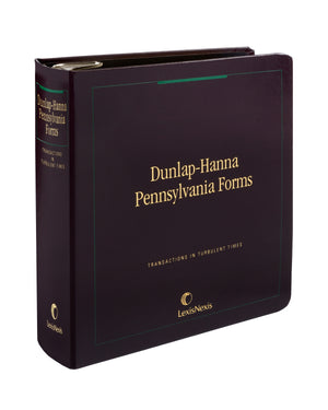 Dunlap-Hanna Pennsylvania Forms-Printed Version