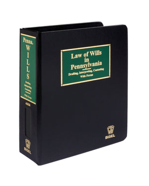 Law of Wills in Pennsylvania - CD-ROM Version