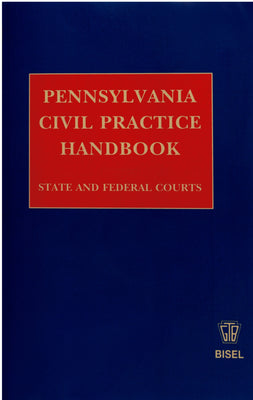 Z-Password Protected Digital Download - Pennsylvania Civil Practice Handbook
