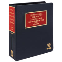 Pennsylvania Community Association Law & Practice (includes book + digital download)