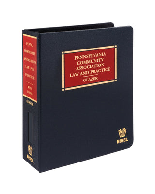 Z-Password Protected Digital Download - Pennsylvania Community Association Law & Practice