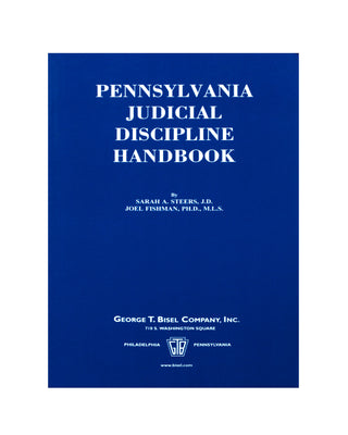 PA Judicial Discipline Handbook (includes book + digital download)