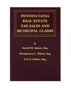 Pennsylvania Real Estate Tax Sales and Municipal Claims (includes book + digital download)