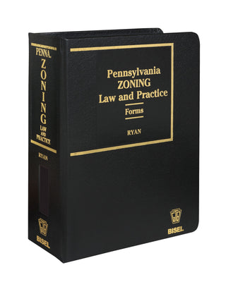 Pennsylvania Zoning Law & Practice - 2 Volumes-CD-ROM Version