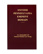 Pennsylvania Eminent Domain (includes book + digital download)
