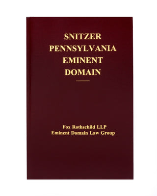 Z-Password Protected Digital Download - Pennsylvania Eminent Domain