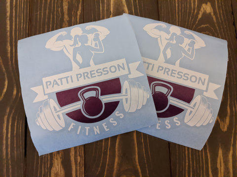 Patti Presson Fitness Decal