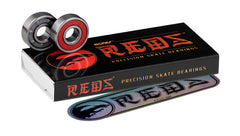 Bones Reds 608 8mm bearings 16 pk