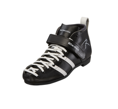 Riedell 265 Boot Black with White stripes