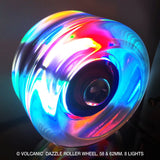 Dazzle Light Up Wheels 85a 4pk