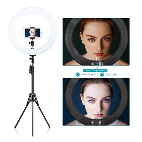 18 inch LED Ring Light Kit - Ring Light City