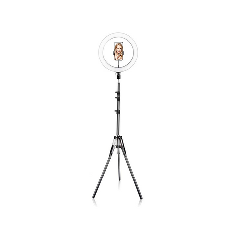 10 Inch Ring Light Phone Holder Stand - Ring Light City