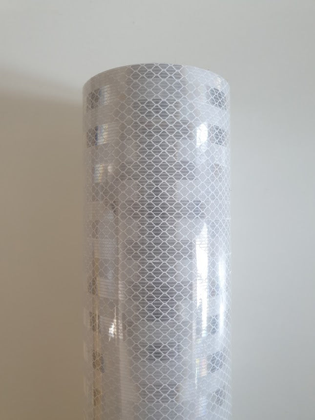 3M High Intensity Prismatic (HIP) - White - 10x 25mm*1m