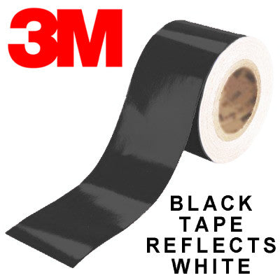 3M Scotchlite Black Reflective Fike Logos (100 Small)