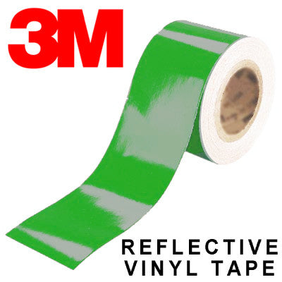 3M Scotchlite Green Reflective Tape