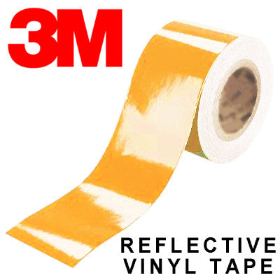 3M Scotchlite Orange Reflective Tape
