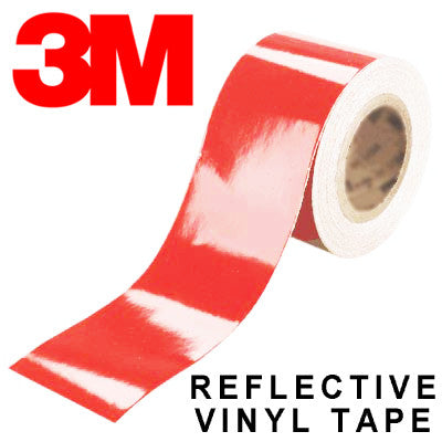 3M Scotchlite Red Reflective Tape