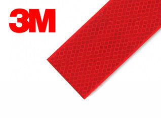 3M 983 Red Conspicuity Tape