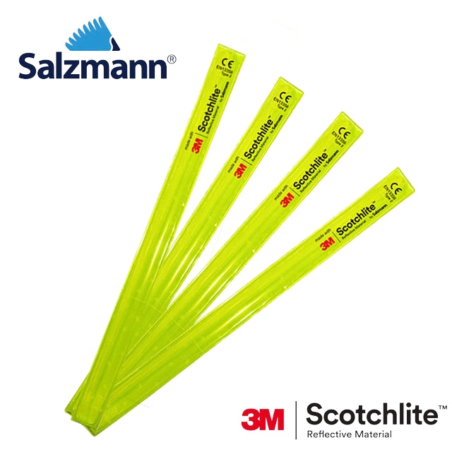 Salzmann 3M Scotchlite Reflective Slap Wrap - Fluorescent Yellow