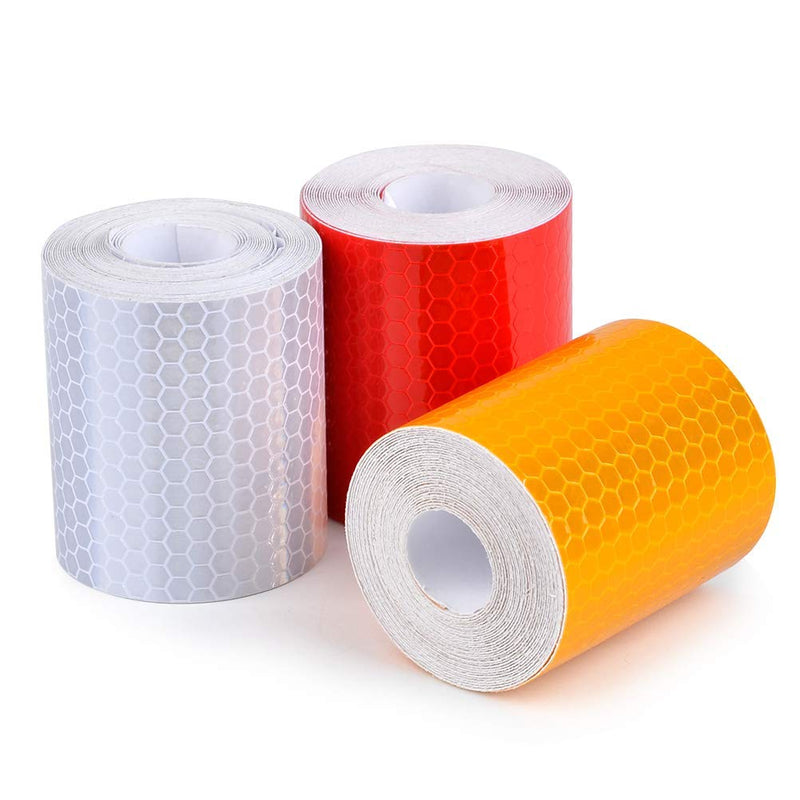 Reflective Tape 3pcs 50mm*3m Each