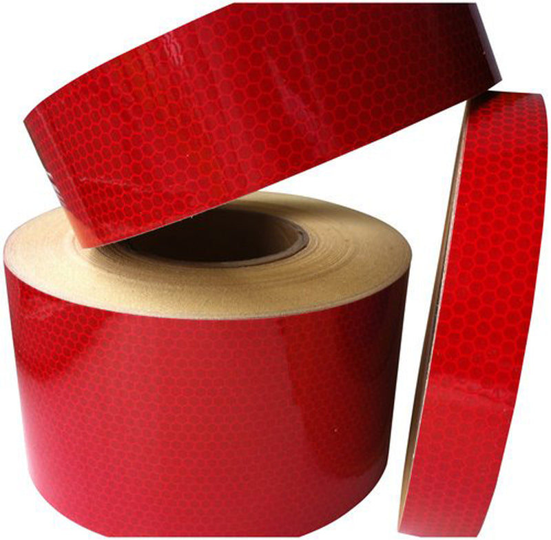 Reflective Tape - Yellow 25mm*18m & Red 25mm*54m