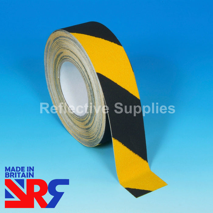 Anti Slip Tape (RS401) BLACK & YELLOW HAZARD