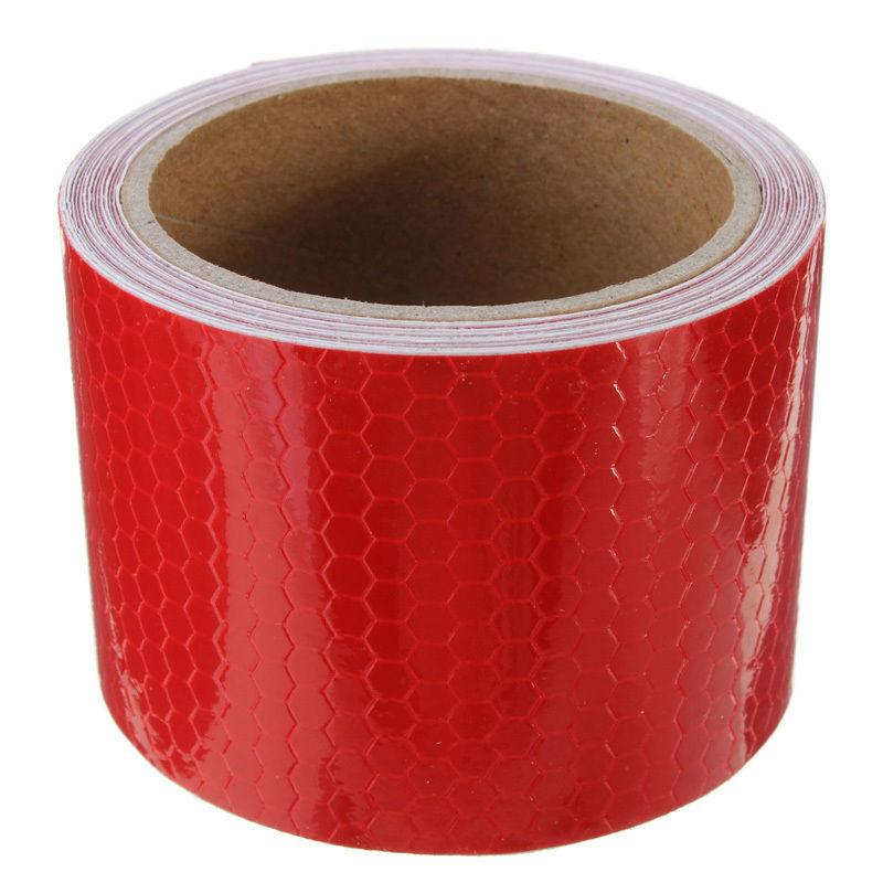 2x High Intensity Reflective Tape - RED 100mm*25m