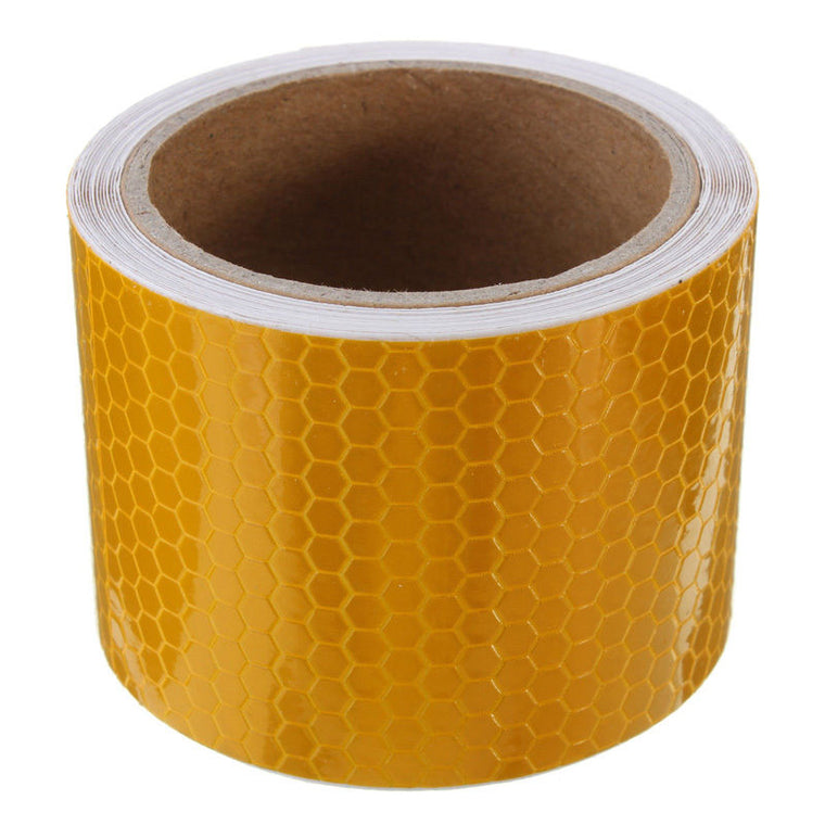 3x High Intensity Reflective Tape - ORANGE / GOLD 50mm*45.7m