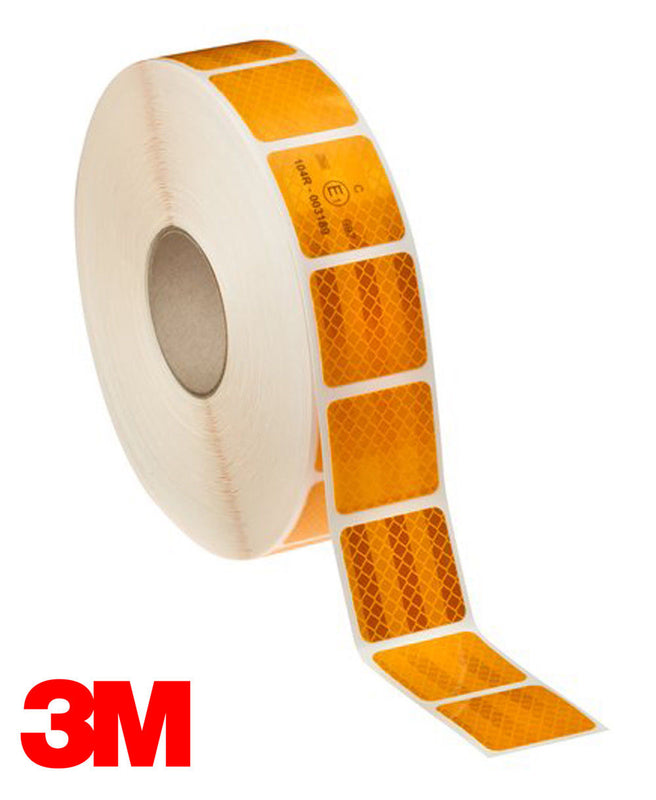 3M 983 Yellow Conspicuity Tape - Segmented
