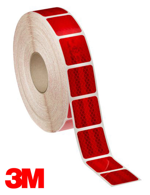 3M 983 Red Conspicuity Tape - Segmented