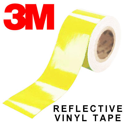 3M Scotchlite Reflective Yellow 15mm*11.4m