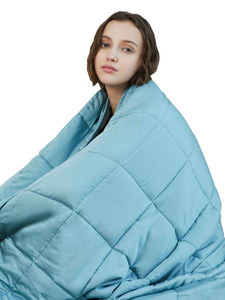 Cool Touch Aqua Bamboo Weighted Blanket