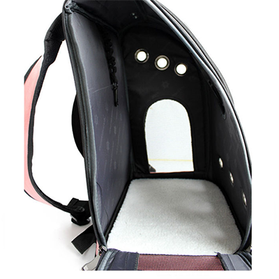 Astro Pet Big waterproof pet carrier backpack - black