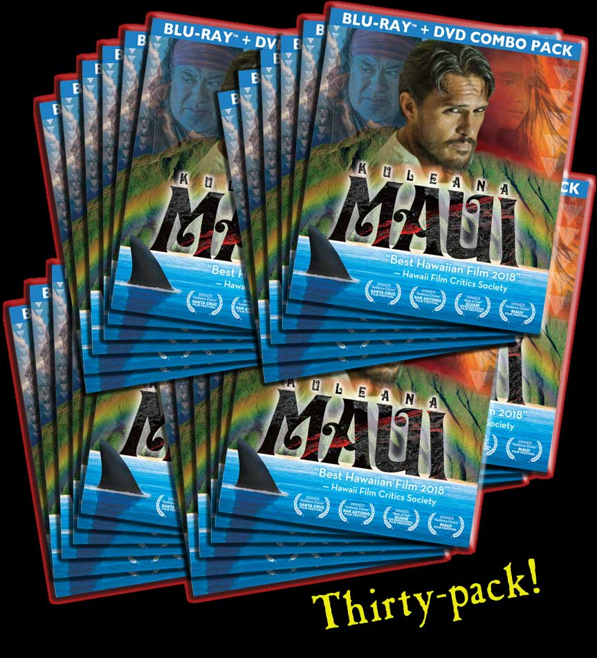 KULEANA [MAUI] | BluRay/DVD 30 Pack | Retailer Bundle