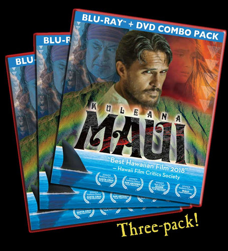 KULEANA [MAUI] | BluRay/DVD 3 Pack | Discount Bundle