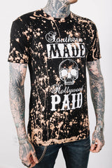 Hand Bleached Southern Made Men's Tee Shirt